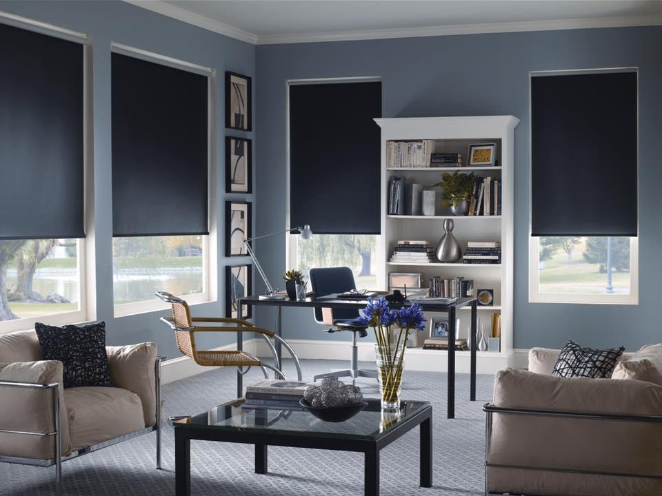 smart office roller blinds