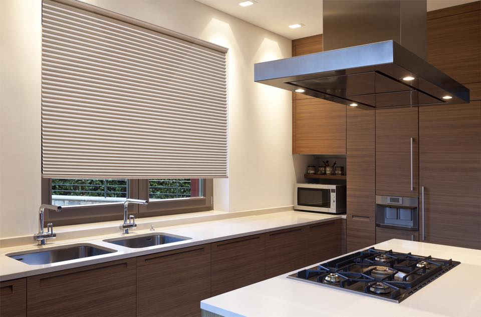 Beautiful new contemporary home city blinds for Motorized roller shades price