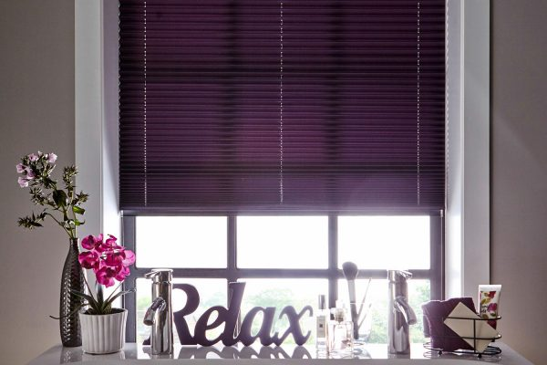 infusion purple blinds