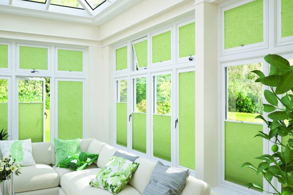 Luovolite perfect fit blinds spring mist cellular