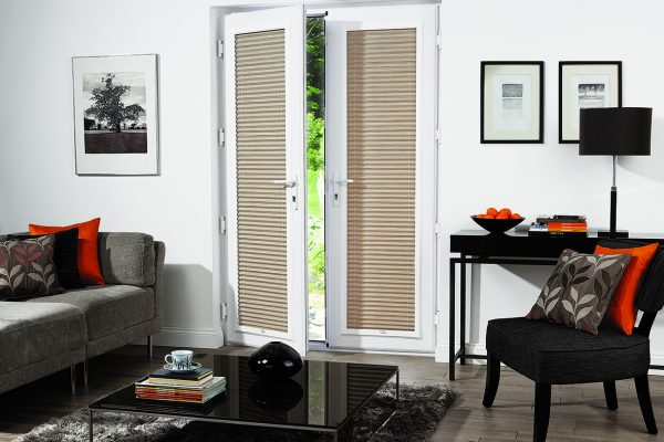 Luovolite perfect fit blinds pleated strata