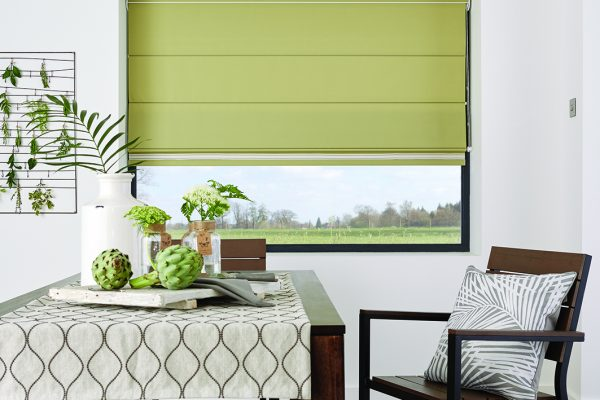 Luovolite Roman blinds fennel