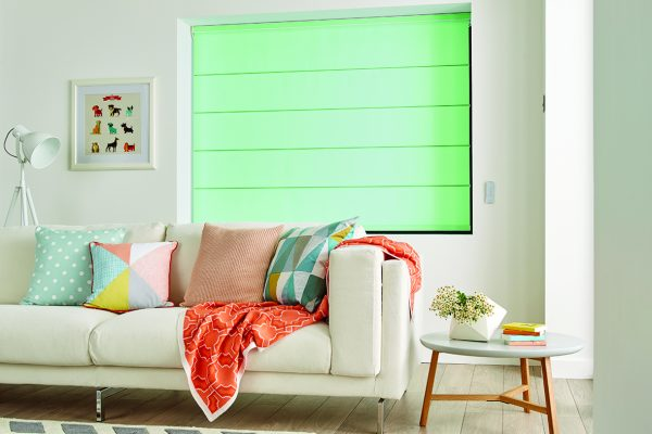 Luovolite Roman blinds peppermint