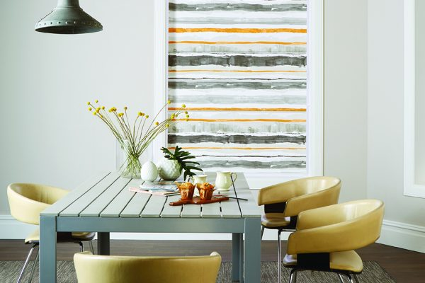 Louvolite Roman blinds alba closed