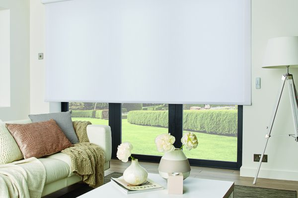 Louvolite roller blinds cotton