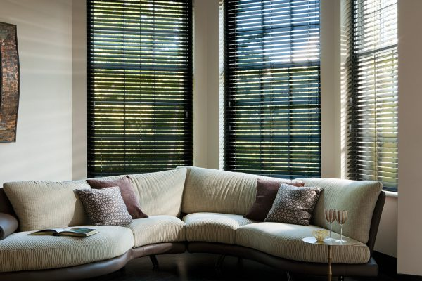 Timberlux Venitian Dark blinds