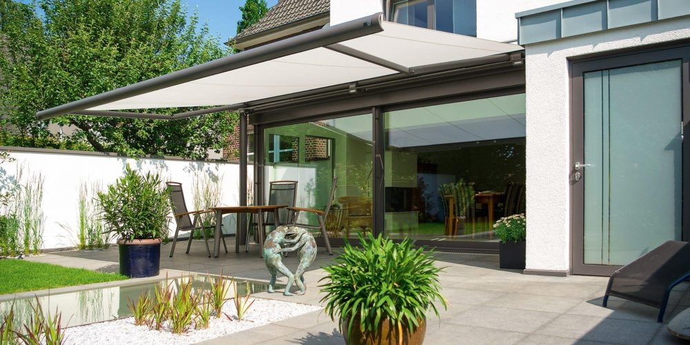 awnings over garden
