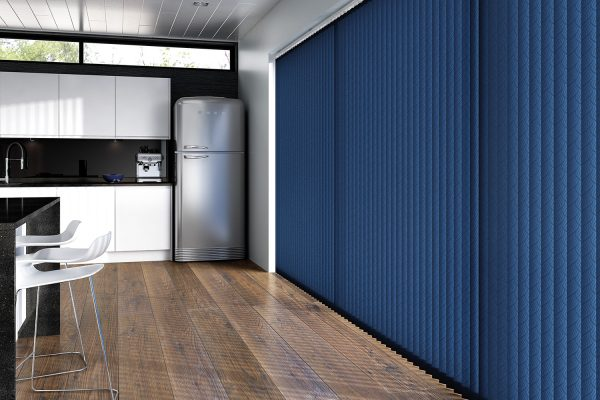 Vertical blinds FabricBox petrol