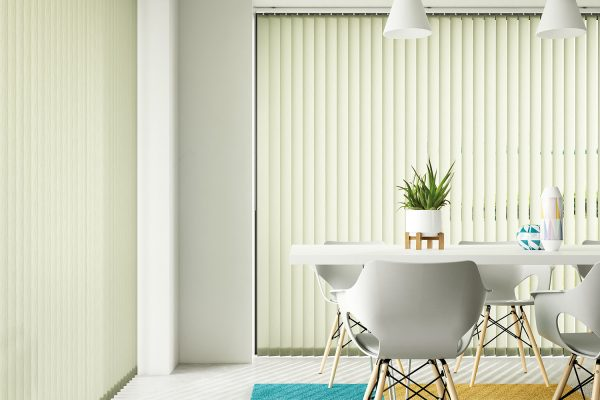 Vertical blinds olive