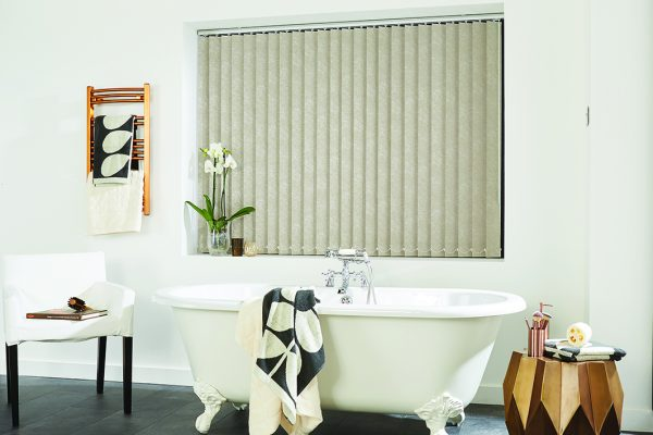 Louvolite romany vertical blinds