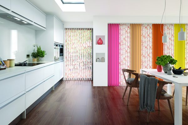 Louvolite tropical carnival vertical blinds