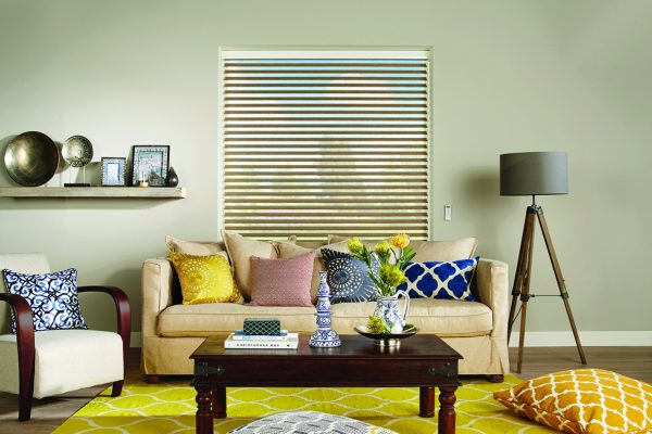 Luovolite night and day blinds chestnut