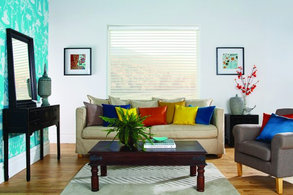 Luovolite night and day blinds ivory