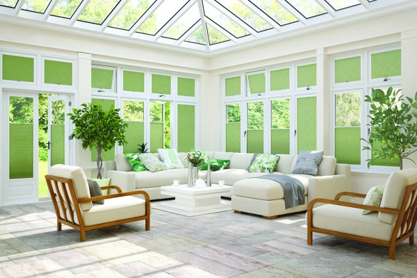 Luovolite perfect fit blinds spring mist