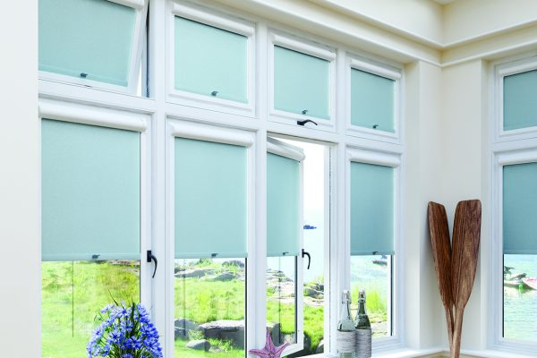 Luovolite night and day blinds perfect fit roller verdigris