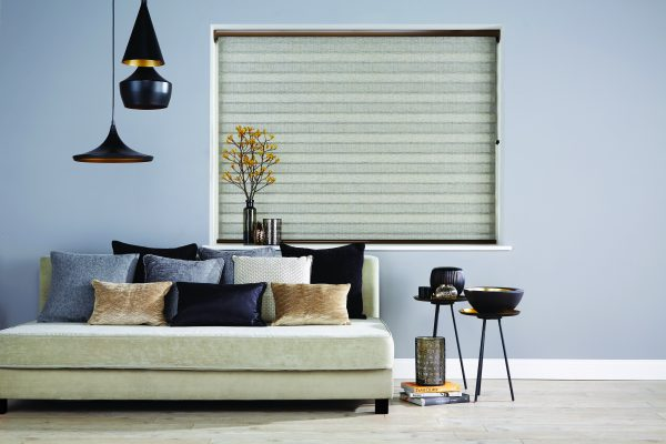 Luovolite night and day blinds silver