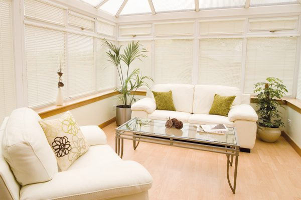 Intu pleated conservatory blinds